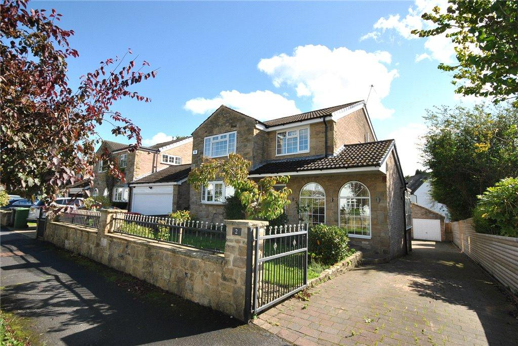 4 Bedrooms Detached House for sale in Adel Park Gardens, Adel, Leeds