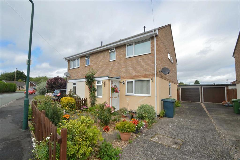 3 Bedrooms Semi Detached House for sale in Whitehart, Reabrook, Shrewsbury