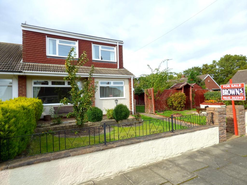 3 Bedrooms Semi Detached House for sale in Tanya Gardens, Stockton-On-Tees, TS19