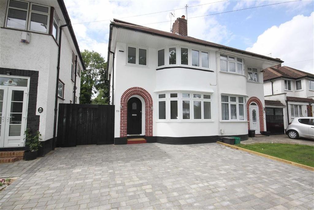 4 Bedrooms Semi Detached House for sale in Beaumont Road, Petts Wood East