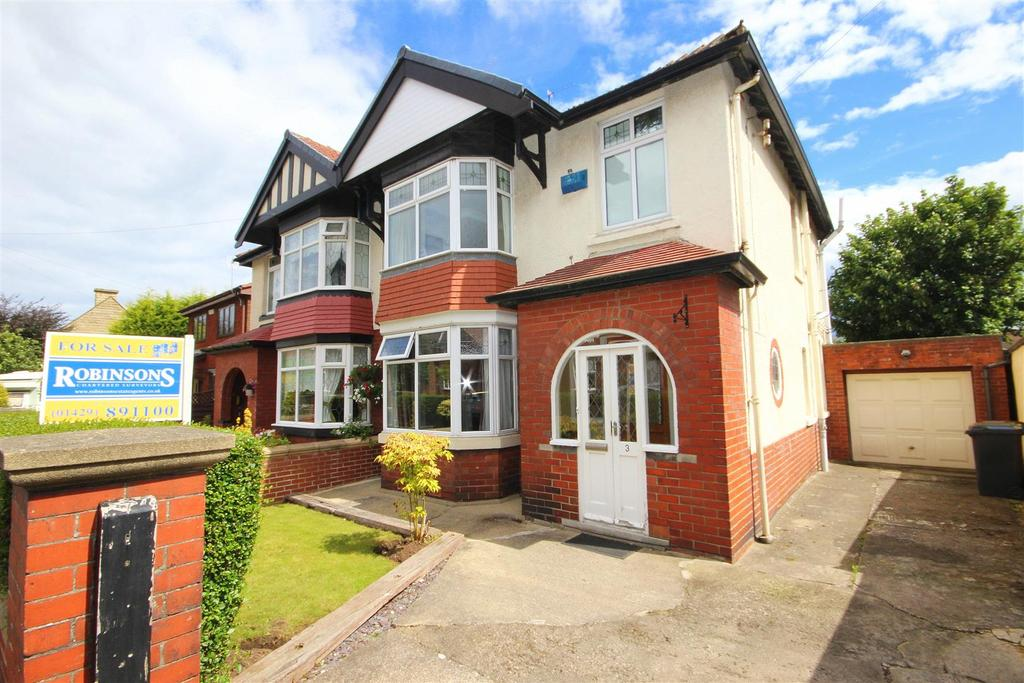 3 Bedrooms Semi Detached House for sale in Newlands Avenue, Hartlepool
