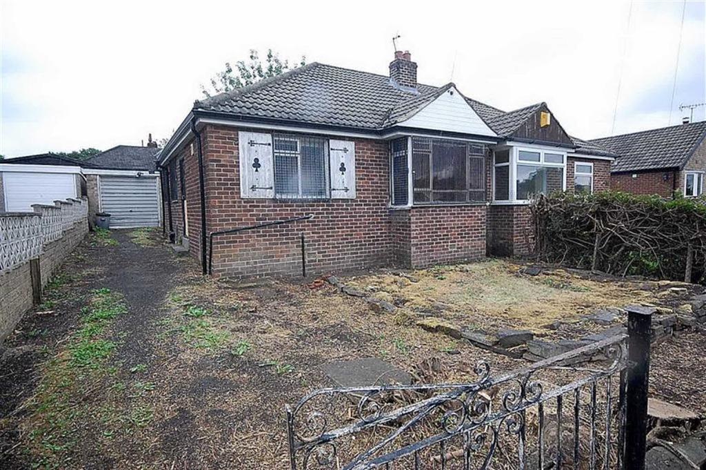 2 Bedrooms Semi Detached Bungalow for sale in Devon Way, Bailiff Bridge, Brighouse, HD6