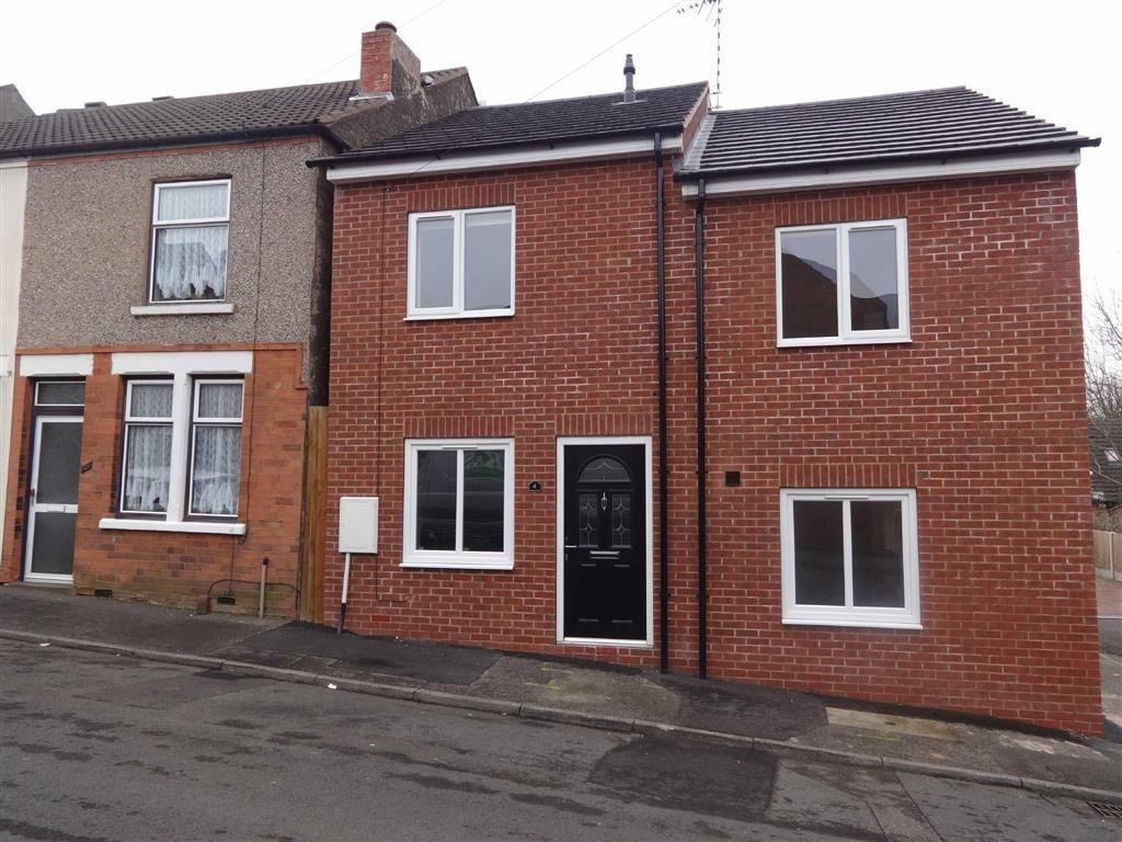 2 Bedrooms Semi Detached House for sale in 4, Jennison Street, Mansfield, Notts, NG19