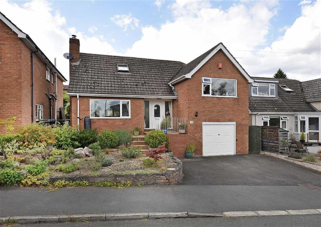 3 Bedrooms Detached House for sale in 18, Ludlow Road, High Town, Bridgnorth, Shropshire, WV16
