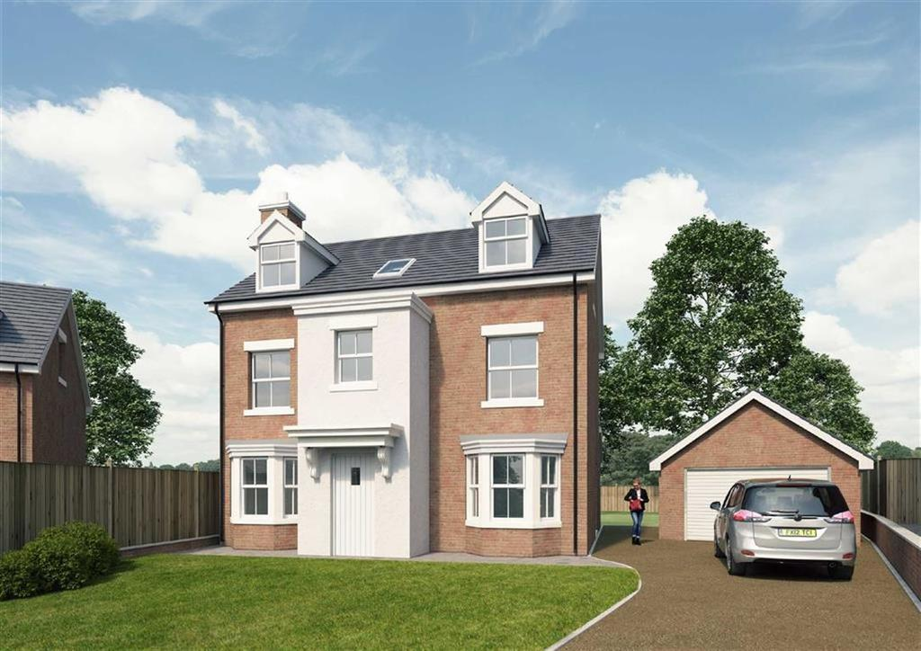 5 Bedrooms Detached House for sale in The Bradman, Ruabon, Wrexham