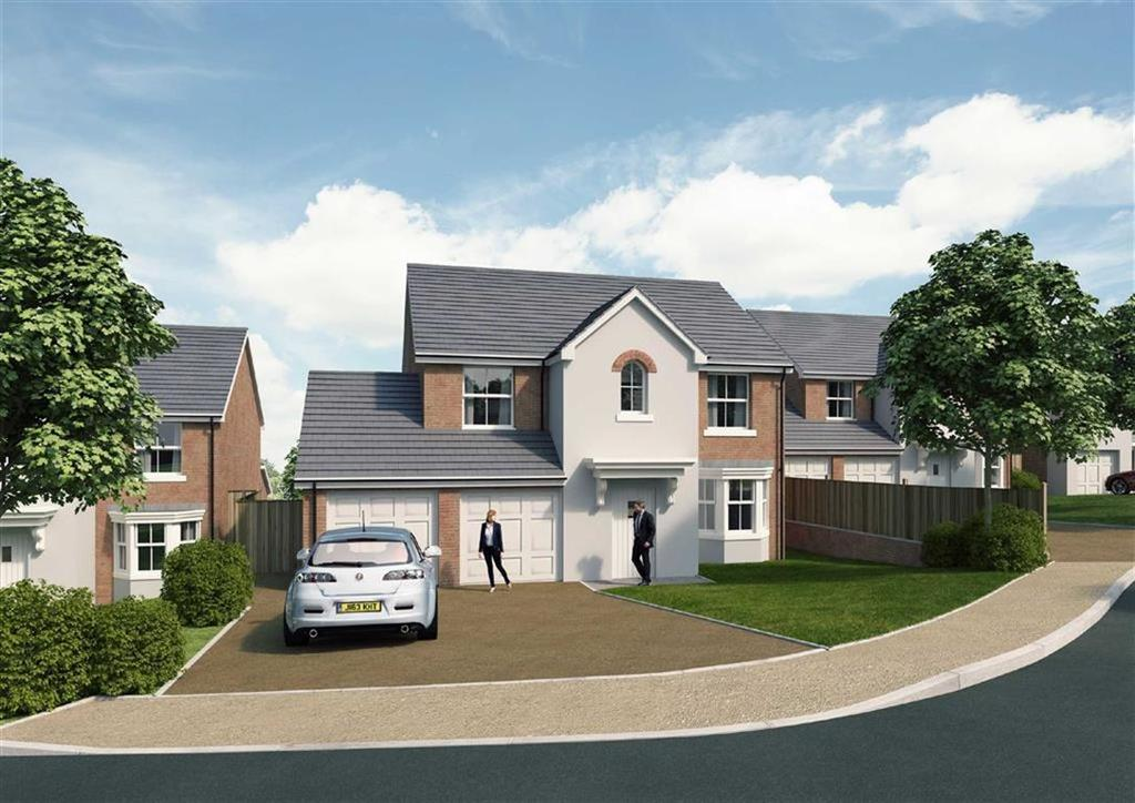 5 Bedrooms Detached House for sale in The Brampton, Ruabon, Wrexham
