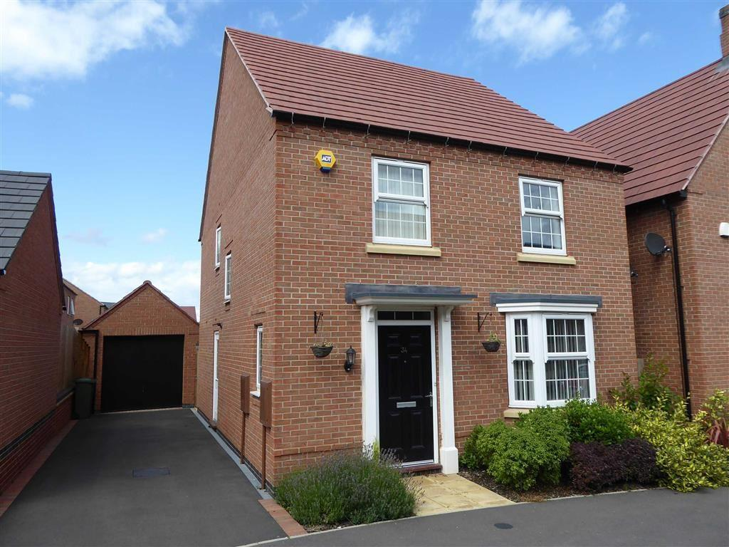 4 Bedrooms Detached House for sale in Slatewalk Way, Glenfield