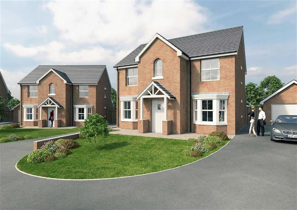 4 Bedrooms Detached House for sale in The Conway, Ruabon, Wrexham