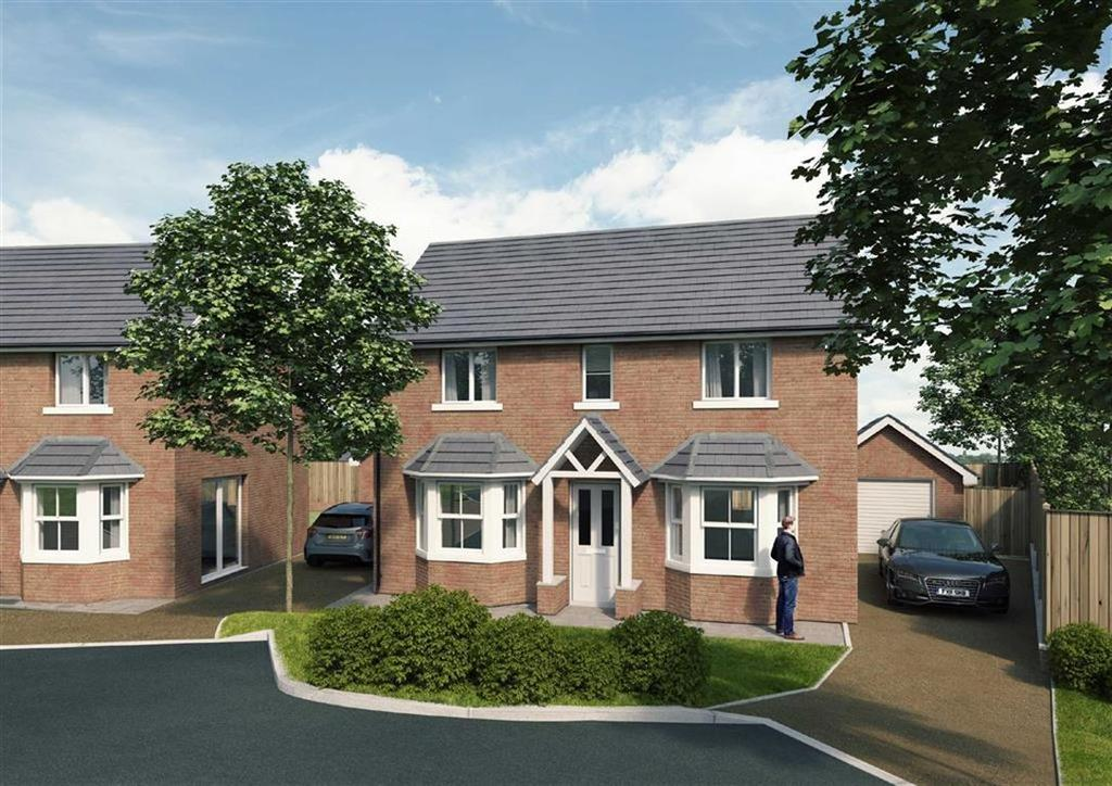 3 Bedrooms Detached House for sale in The Brenig, Ruabon, Wrexham
