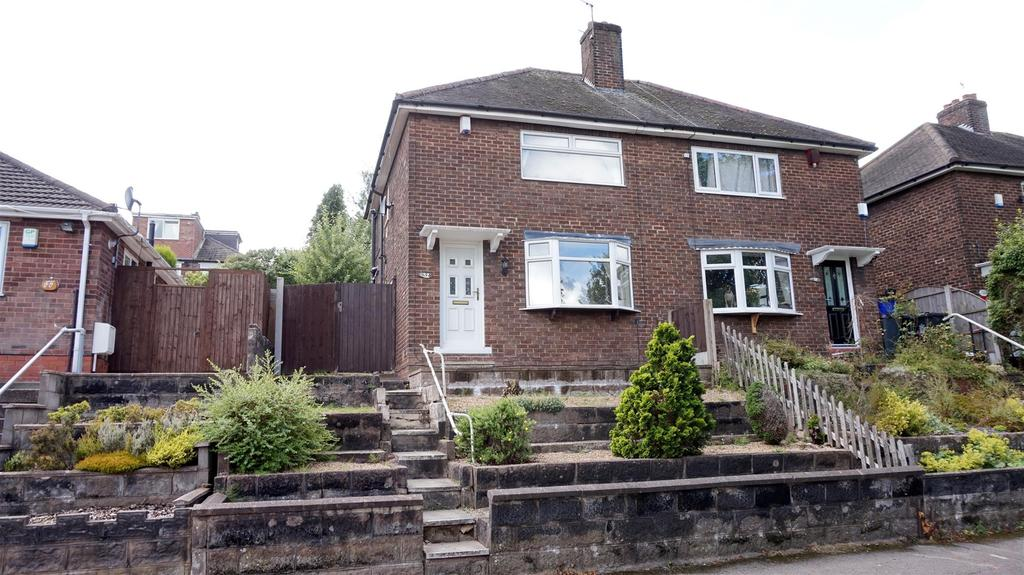 2 Bedrooms Semi Detached House for sale in Second Avenue, Porthill, Newcastle, Staffs