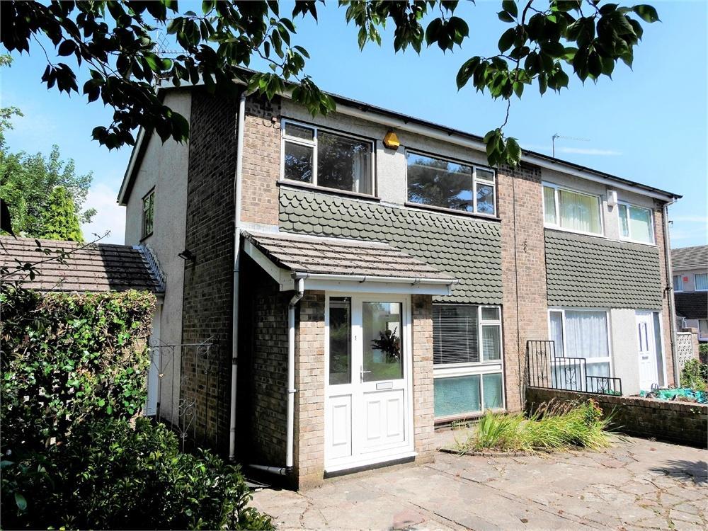 3 Bedrooms Semi Detached House for sale in Berkley Drive, Penarth