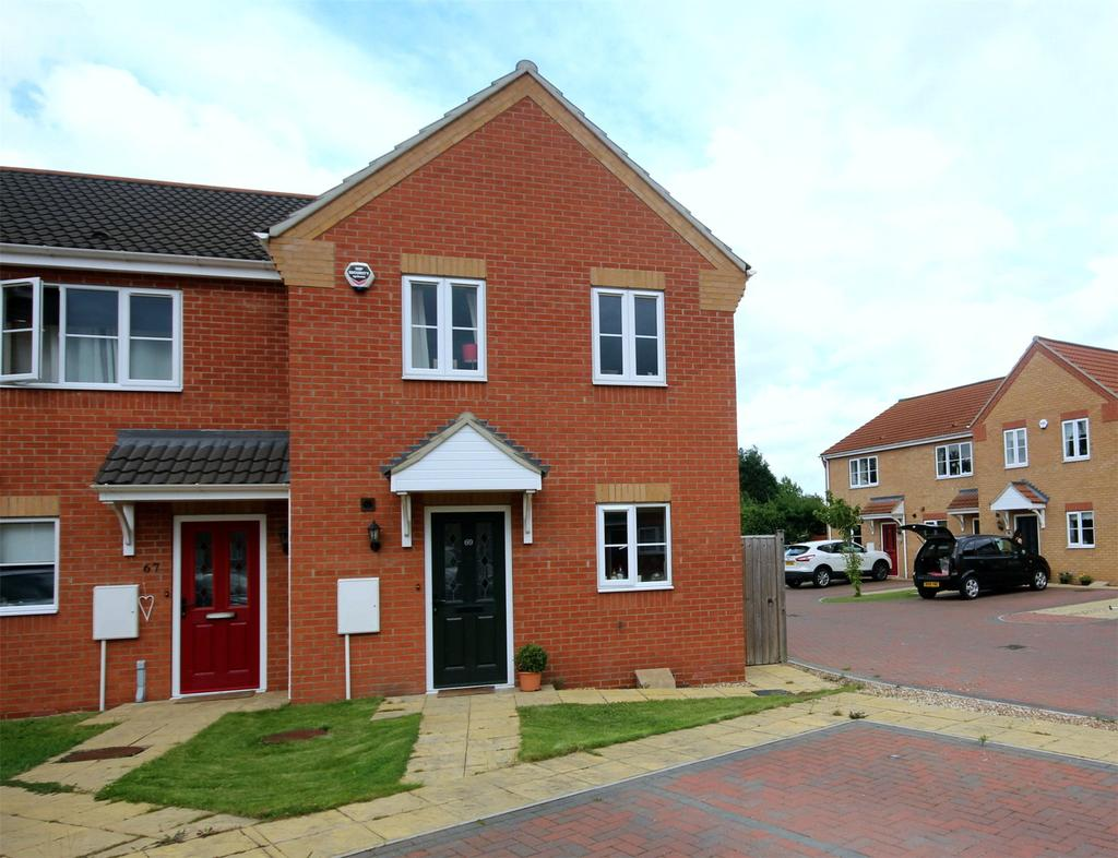 3 Bedrooms End Of Terrace House for sale in Jubilee Close, Cherry Willingham, LN3