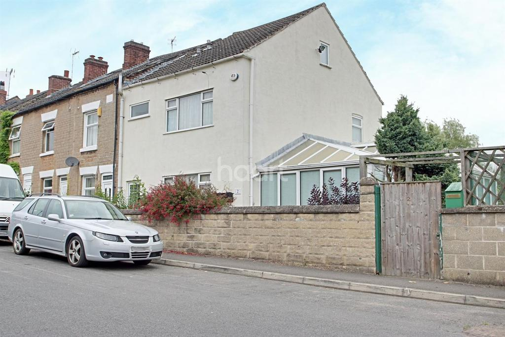 3 Bedrooms End Of Terrace House for sale in Washdyke Lane, Nottingham