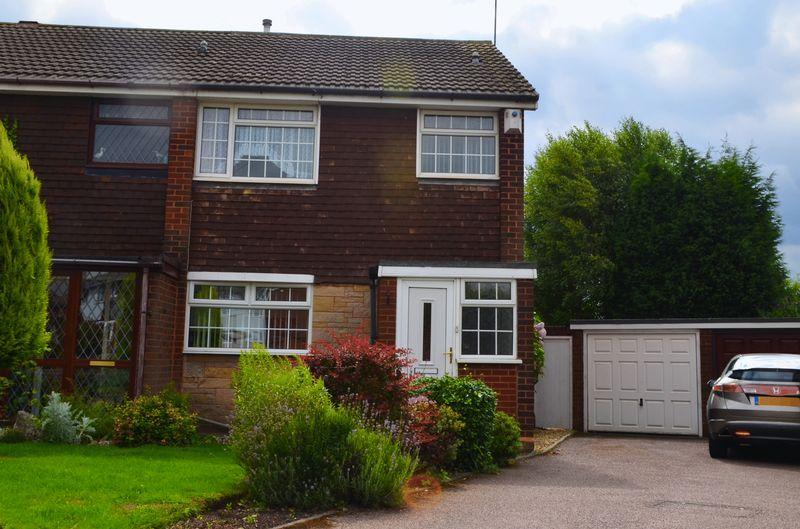 3 Bedrooms Semi Detached House for sale in Field Close, Pelsall, Walsall