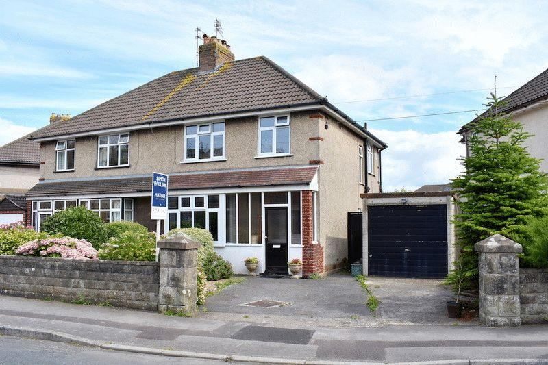 3 Bedrooms Semi Detached House for sale in Coleridge Vale Road North, Clevedon