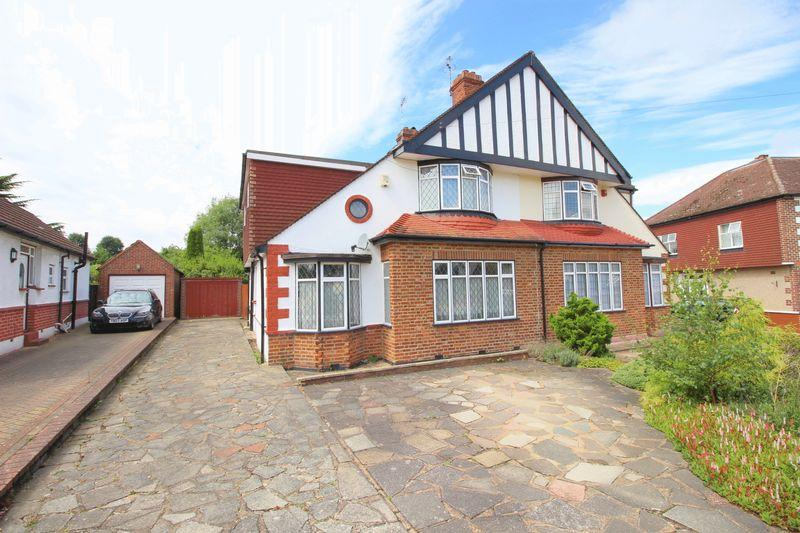 4 Bedrooms Semi Detached House for sale in WALTON ROAD, Sidcup, DA14 4LL