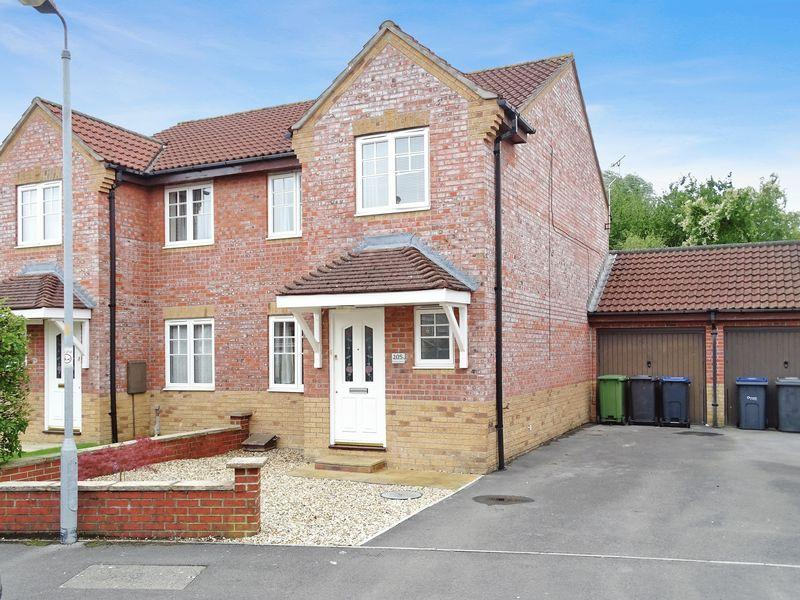 3 Bedrooms Semi Detached House for sale in Primrose Drive, Melksham
