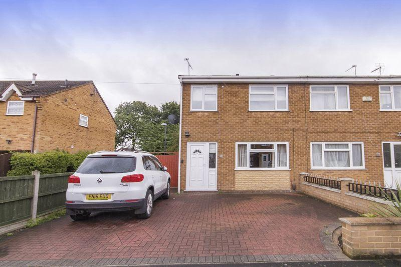3 Bedrooms Semi Detached House for sale in GARY CLOSE, LITTLEOVER.