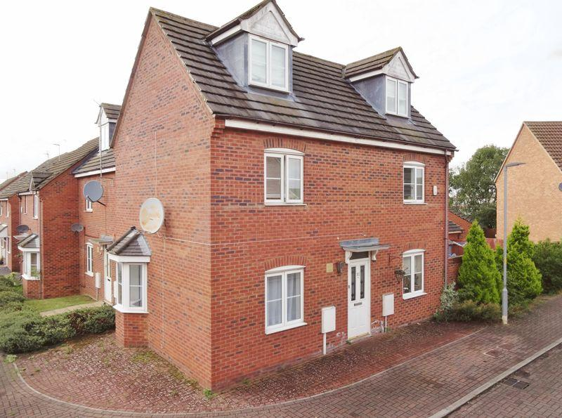 4 Bedrooms Semi Detached House for sale in Watson Close, Corby