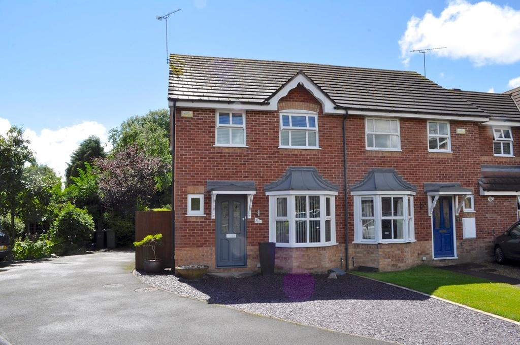 3 Bedrooms Semi Detached House for sale in Hazelmere Close, Hartford, Northwich, CW8