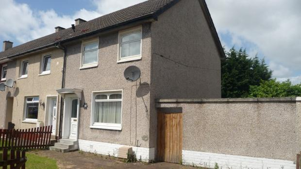 2 Bedrooms End Of Terrace House for sale in Burnside Road, Motherwell, ML1
