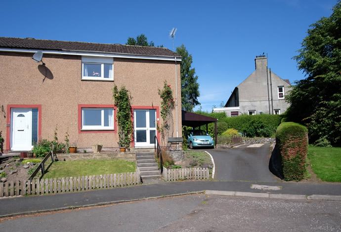 2 Bedrooms Terraced House for sale in 7 Connor Ridge, Peebles, EH45 8HN