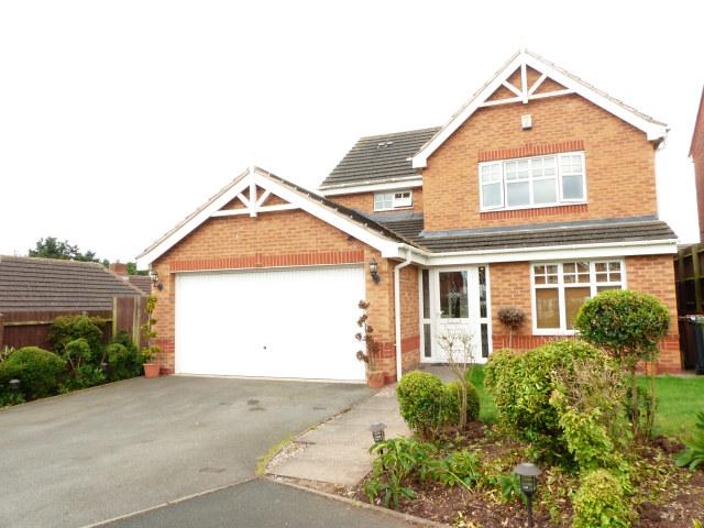 4 Bedrooms Detached House for sale in Katsura Close,Streetly,Sutton Coldfield