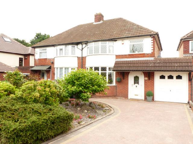 3 Bedrooms Semi Detached House for sale in Rowton Drive,Streetly,Sutton Coldfield