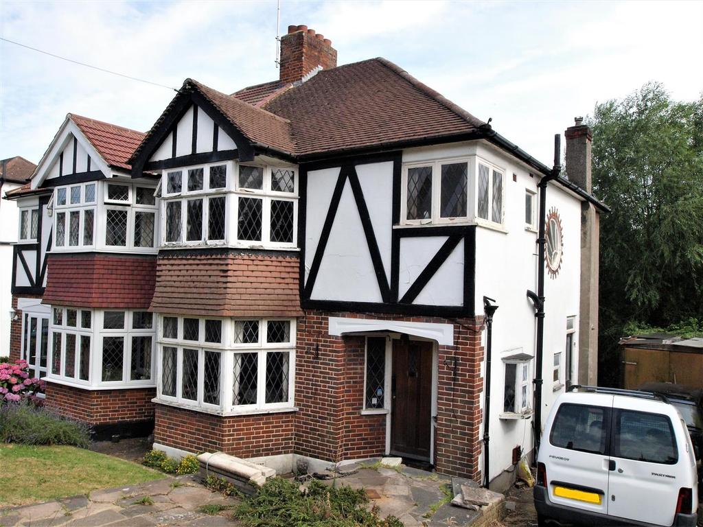 3 Bedrooms Semi Detached House for sale in Wood Lodge Lane, West Wickham