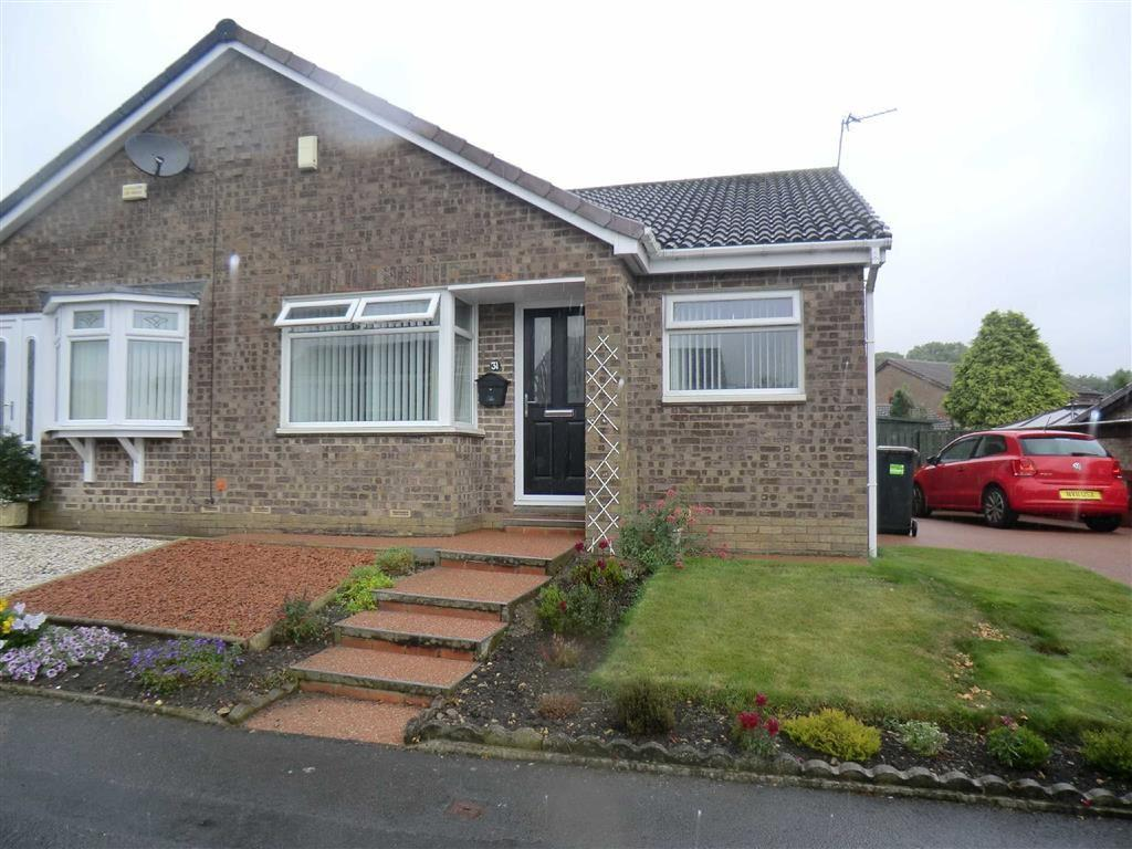 2 Bedrooms Semi Detached Bungalow for sale in 31, Ramsay Drive, Ferryhill