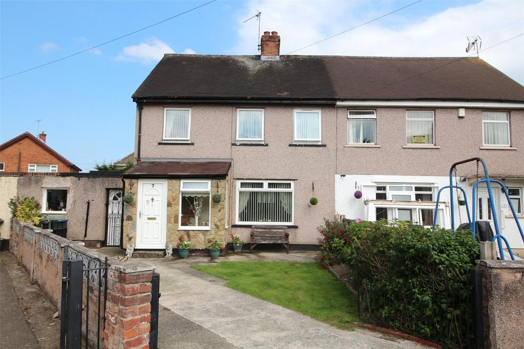 3 Bedrooms Semi Detached House for sale in Westbourne Drive, Rhostyllen, Wrexham, LL14