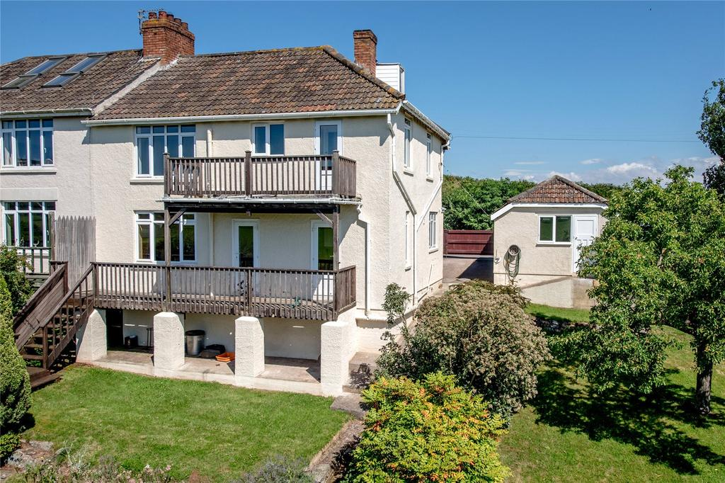 4 Bedrooms Semi Detached House for sale in Castle Hill, Nether Stowey, Bridgwater, Somerset