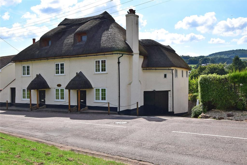 3 Bedrooms Semi Detached House for sale in Birds Nest Cottages, Sid Road, Sidmouth, Devon