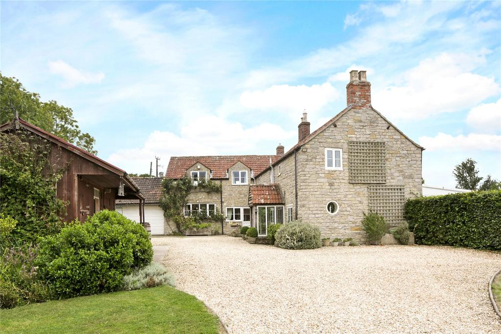 4 Bedrooms Detached House for sale in Babcary, Somerton, Somerset