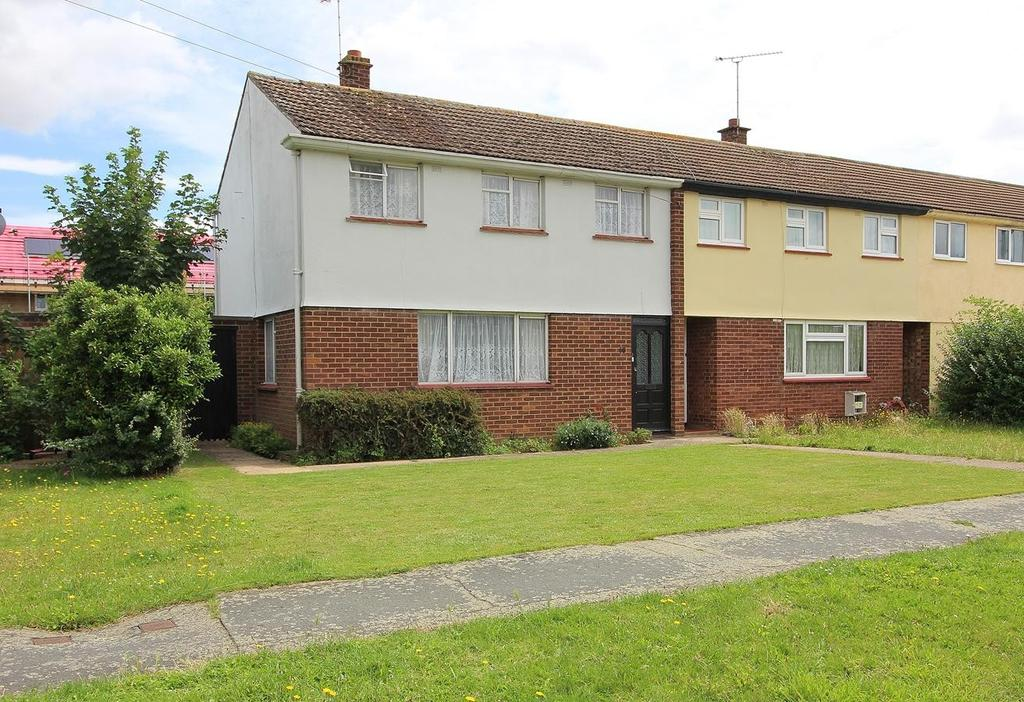 3 Bedrooms End Of Terrace House for sale in Cherwell Drive, Chelmsford, Essex, CM1