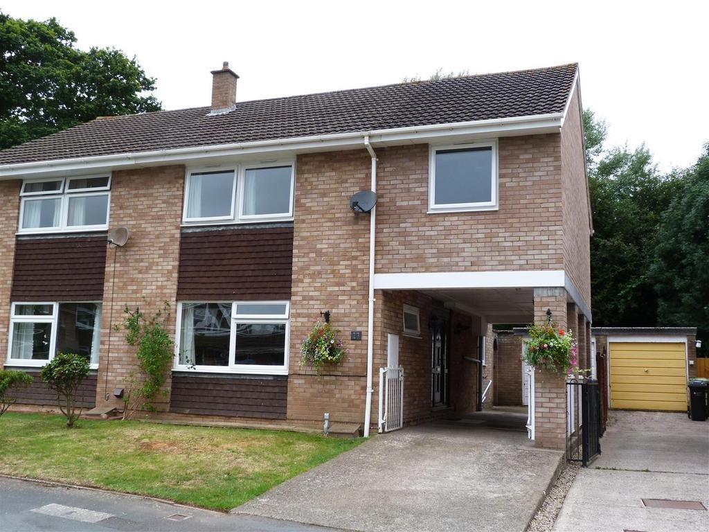 4 Bedrooms Semi Detached House for sale in Rosemary Gardens, Hampton Dene, Hereford, HR1