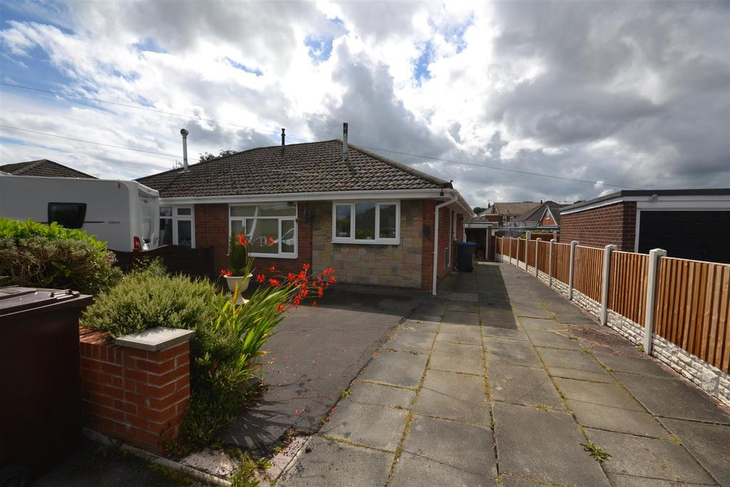 2 Bedrooms Semi Detached Bungalow for sale in James Way, Knypersley, Stoke-On-Trent