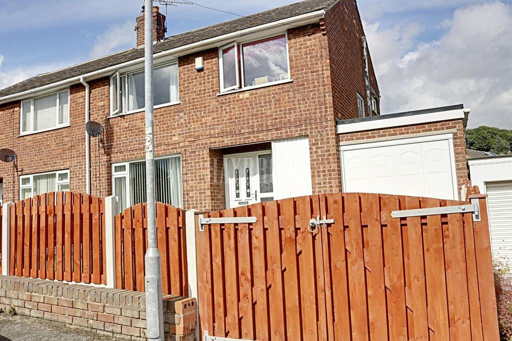 3 Bedrooms Semi Detached House for sale in Meadow View, Worsbrough Bridge