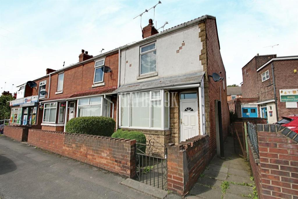 3 Bedrooms End Of Terrace House for sale in Rotherham Road. Maltby