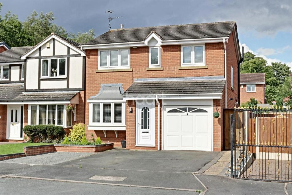 3 Bedrooms Detached House for sale in Rockley Close, Hucknall
