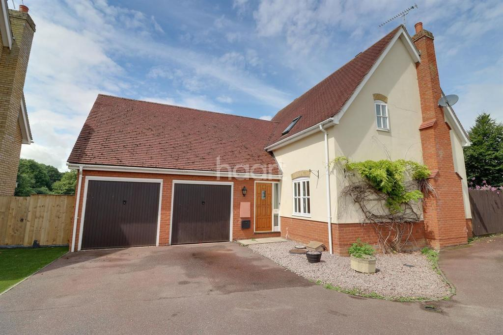 3 Bedrooms Detached House for sale in Warene Close, Framlingham