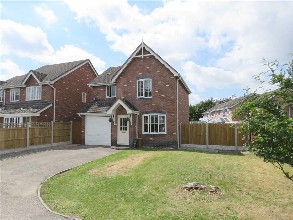 3 Bedrooms Detached House for sale in Aldersley Way, Ruyton Xi Towns, SY4