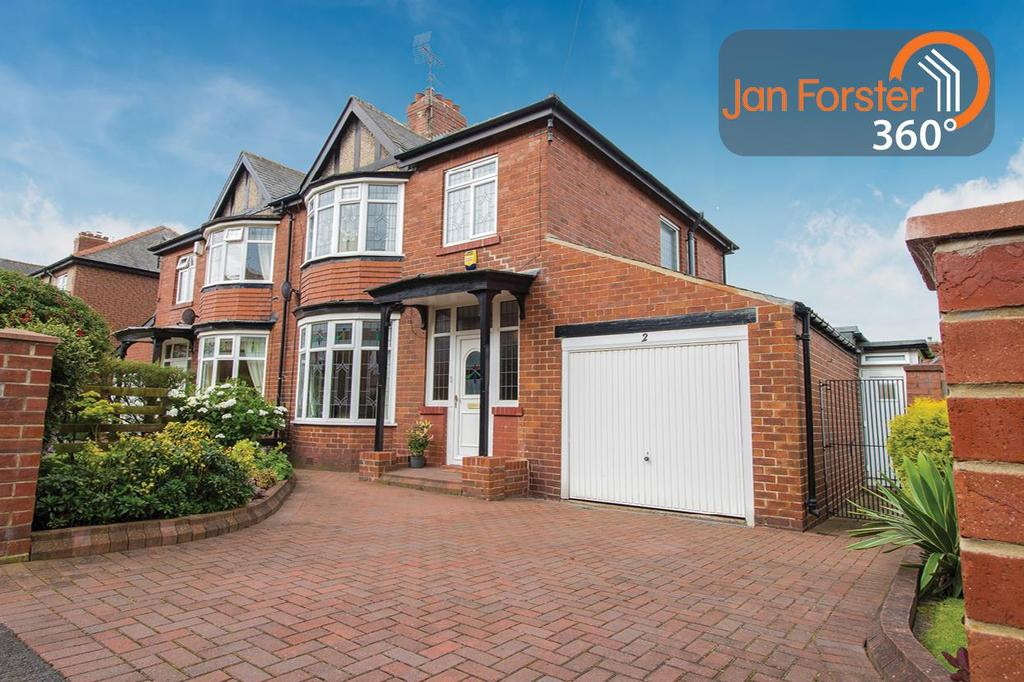 3 Bedrooms Semi Detached House for sale in Westover Gardens, Gateshead