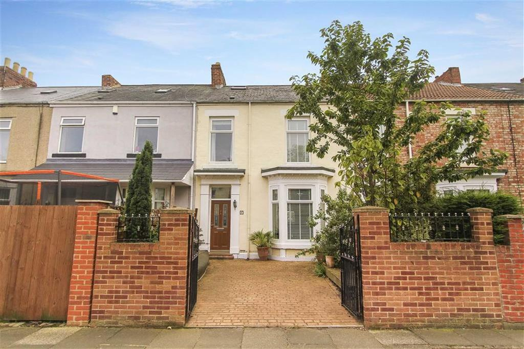 3 Bedrooms Terraced House for sale in Marine Terrace, Blyth, Northumberland