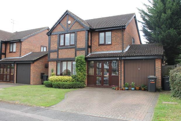 4 Bedrooms Detached House for sale in Carnegie Gardens, Luton, LU3