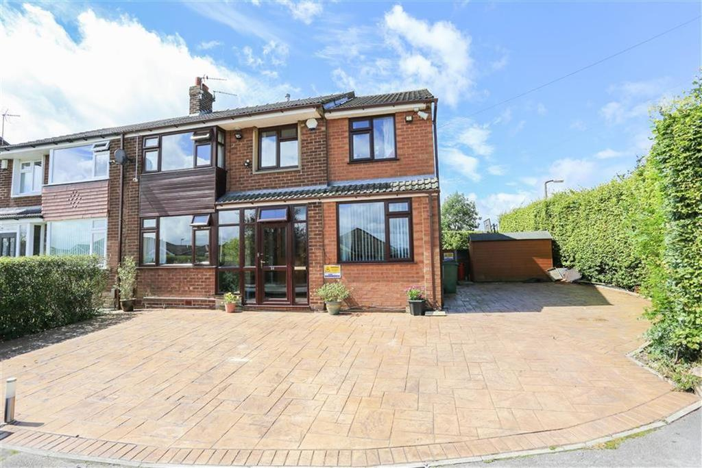 5 Bedrooms Semi Detached House for sale in Brookdale Avenue, Marple Stockport, Cheshire