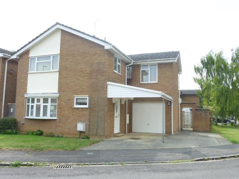4 Bedrooms Detached House for sale in Davis Close, Carterton, Oxon