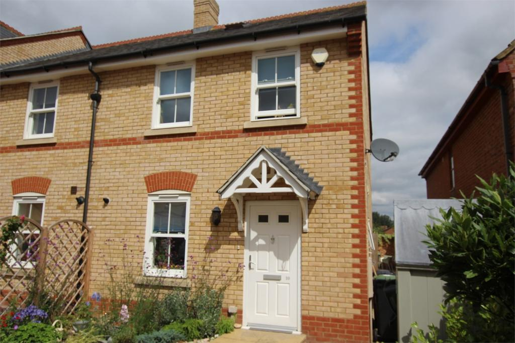 4 Bedrooms End Of Terrace House for sale in Olivers Court, Shefford, Bedfordshire