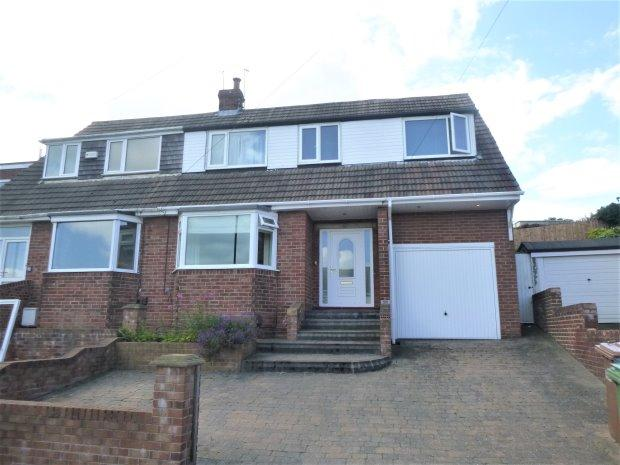 4 Bedrooms Semi Detached House for sale in MYRELLA CRESCENT, TUNSTALL, SUNDERLAND SOUTH