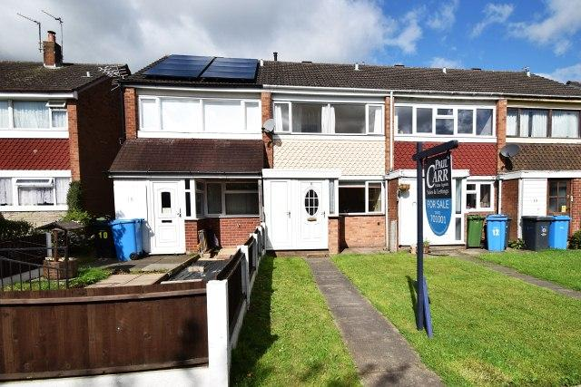 2 Bedrooms Terraced House for sale in Triton Close,Great Wyrley,Staffordshire